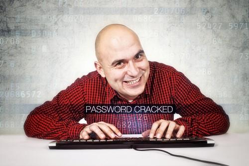 Computer hacker cracked security password